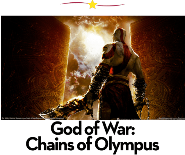 Mejores juegos de PSP: God of War Chains of Olympus