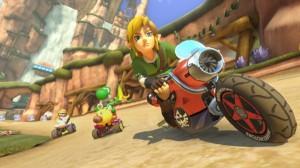 DLC de Mario Kart 8 que hace jugable a Link de Zelda