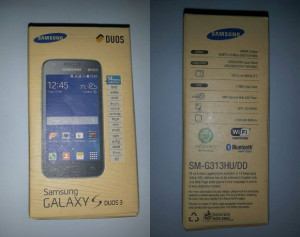 Samsung Galaxy S Duos 3 aparecen en la India