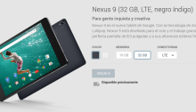 HTC Nexus 9 Play Store