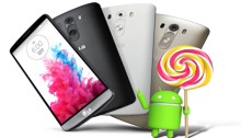 LG G3 con Android 5.0 Lollipop