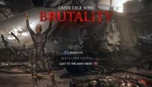 mortal kombat x brutality