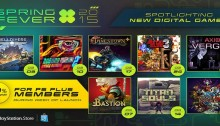 playstation store spring fever 2015