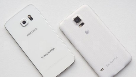 Samsung Galaxy S6 edge vs Galaxy S5