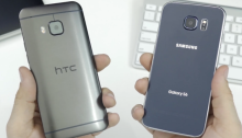 Galaxy S6 vs HTC One M9