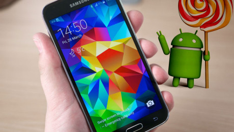 Samsung Galaxy S5 con Lollipop