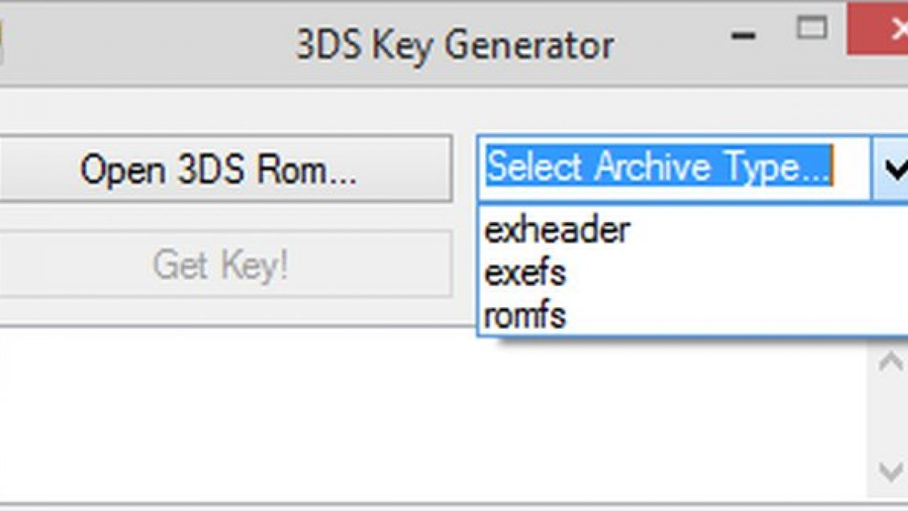 3DS Decryption Key Generator y 3DS CTR Decryptor