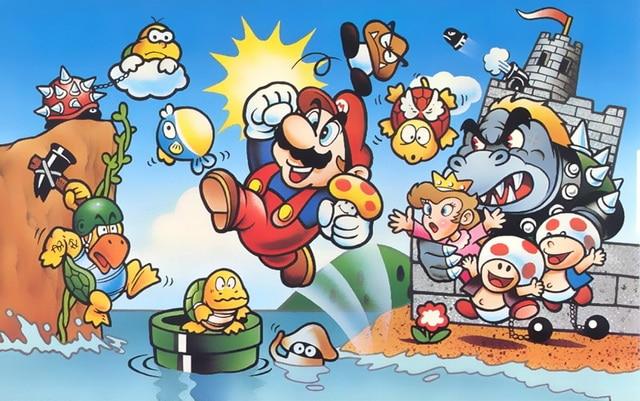 super marios bros para NES