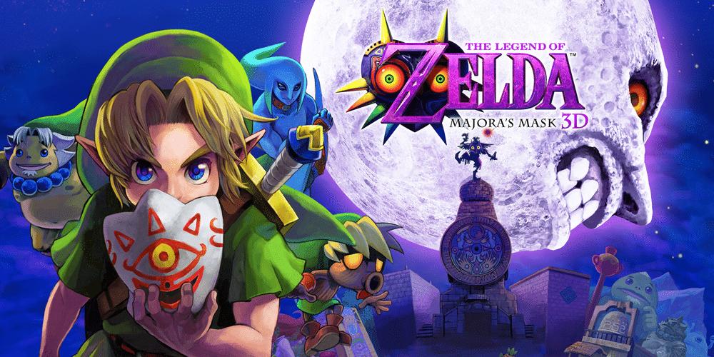 the legend of zelda majora's mask en 3ds