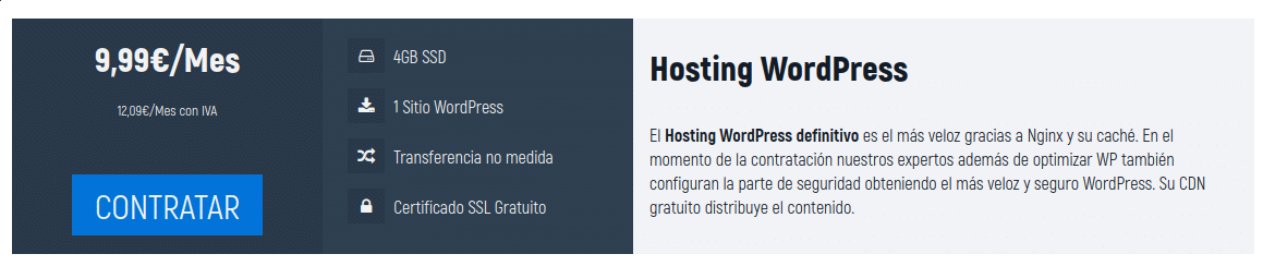 hosting WordPress NodeNet