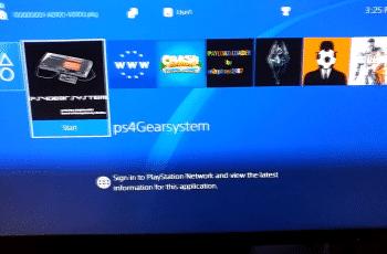 ps4gear emulador para PS4