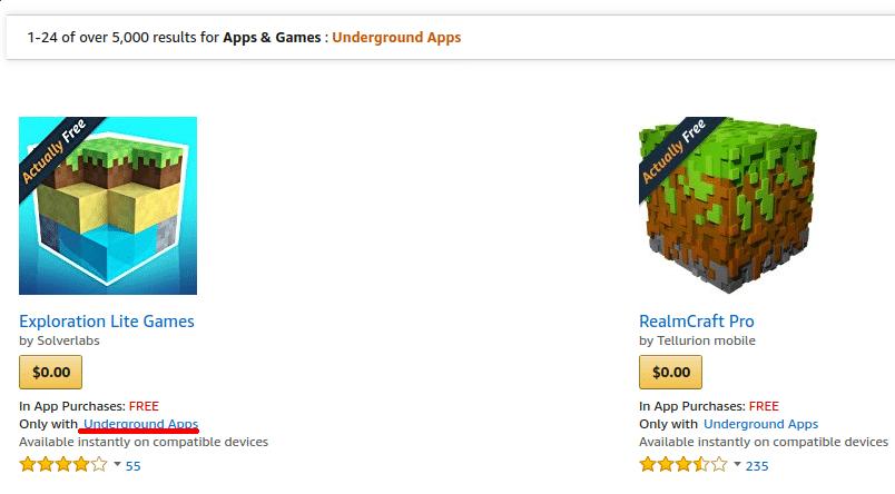 underground apps