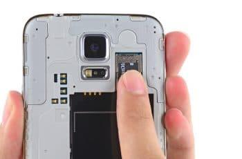 Galaxy J5: Micro SD como memoria interna