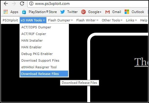PS3 Ps3Xploit Tools v20 Improved Flash Writers - oukas info
