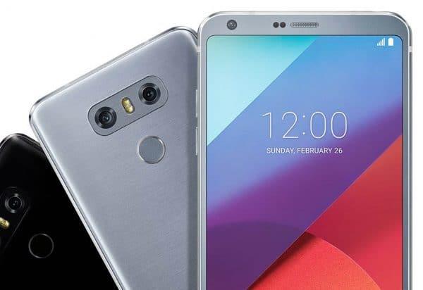 LG G6, es resistente al agua y a golpes