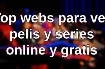 ver pelis y series online