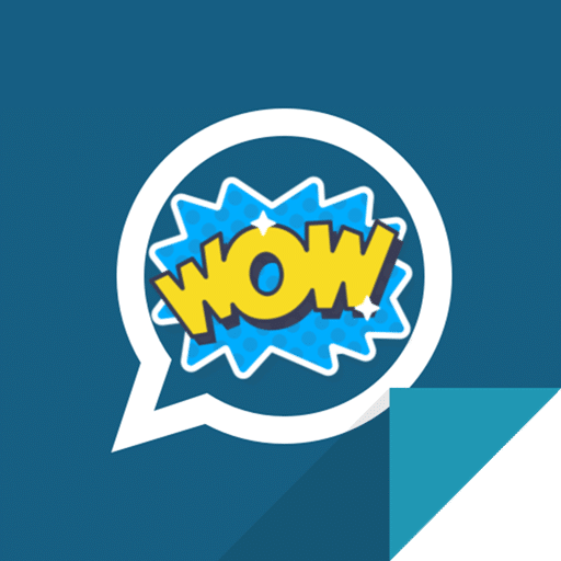 crear stickers para whatsapp logo