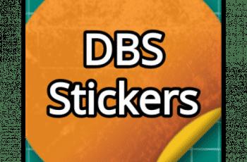dbs stickers logo