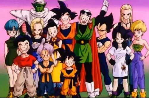Dragon Ball Z Opening, personajes Iresa y Shapner