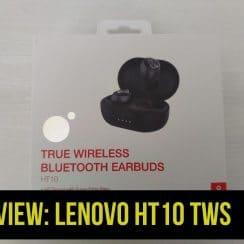 Review Lenovo HT10 TWS